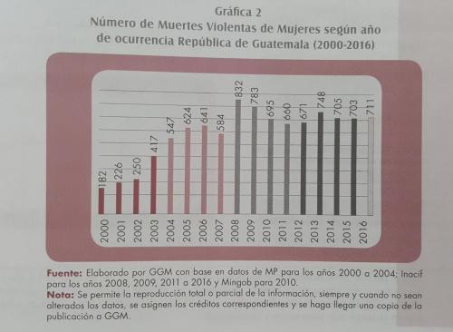 El año pasado hubo 711 mujeres asesinadas, mientras que 2008 ha sido el más violento para la población femenina con 832 muertes. (Fuente: GGM)