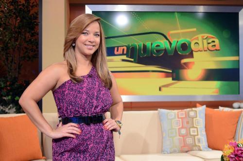 Adamari López en el programa Un Nuevo Día. (Foto: oficial)