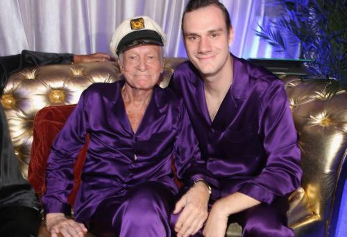 Cooper Hefner es uno de los herederos de la fortuna de Hugh. (Foto: Getty Images)
