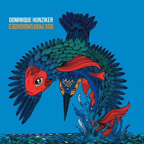 Portada del disco de Dominique Hunziker. (Diseño: Leke garcía y Claudia Armas)