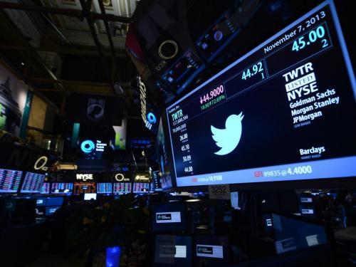 La caída en la bolsa fue producida por la baja en las acciones de grandes de la tecnología como Twitter, Facebook, Netflix y Apple. (Foto: Agencias)