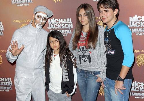 Así lucían los hijos de Michael cuando murió en 2009. (Foto: Archivo)