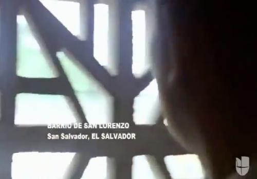 En otra escena del capítulo 6 se ubica a los personajes en el barrio San Lorenzo de El Salvador. (Foto: captura de pantalla)