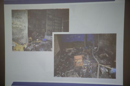 Estas es una bodega destruida por los reclusos. (Foto: Wilder López/Soy502)