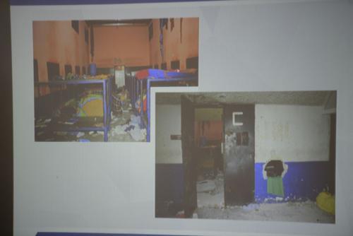 Así quedaron los dormitorios después del motín. (Foto: Wilder López/Soy502)