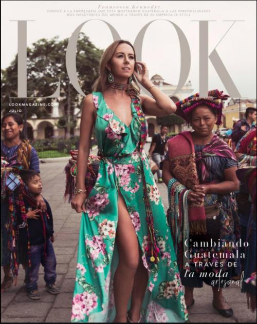 Esta es la portada de la revista Look, con el trabajo de Francesca Kennedy, de origen guatemalteco, en su portada. (Foto: Look Magazine)