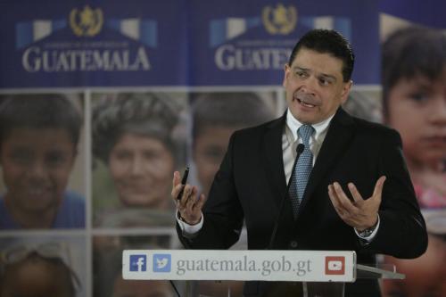 El nuevo presidente procede del sector privado del sector agroindustrial. (Foto: Wilder López/Soy502)