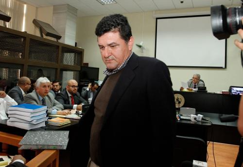 René Danilo Mejía Mejía es un abogado y notario sindicado de colaborar con la estructura criminal de Walter Mendoza, acusado de despojar terrenos. (Foto: Nuestro Diario)