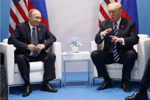 Trump y Putin. (Foto: Infobae)