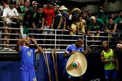 La selección de Curazao tuvo una gran participación, a pesar de sus resultados negativos. (Foto: AFP)