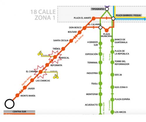 Estas son las estaciones que permanecerán sin servicio.