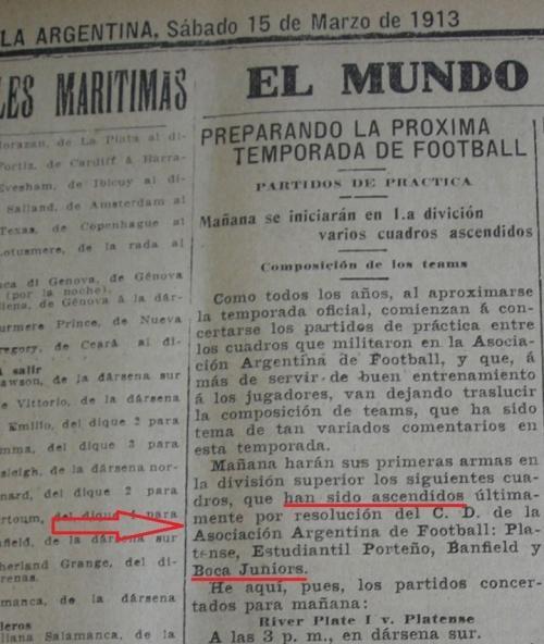 Boca Juniors fue de Segunda División y ascendió a Primera gracias a River Plate. (Foto: Twitter)