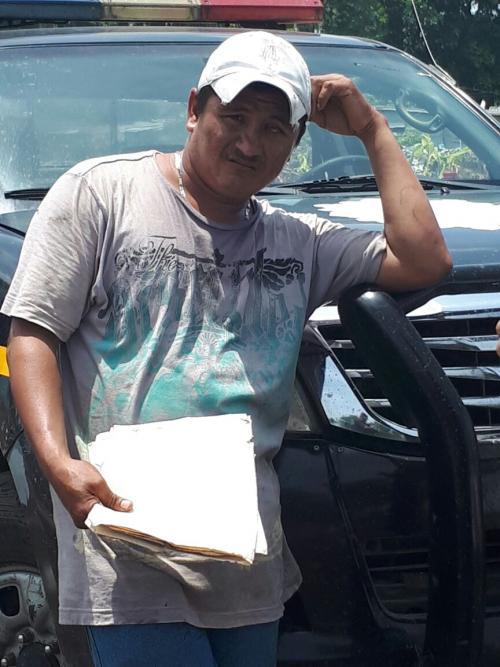 Según las fuerzas de seguridad, Marroquín Castellanos es el autor del robo. (Foto: PNC)