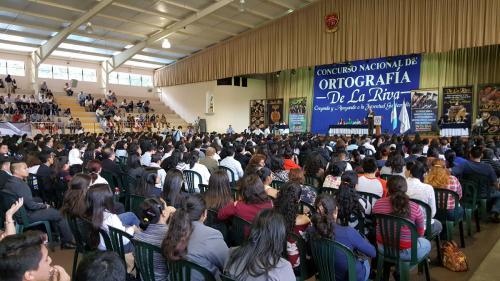 En el concurso participaron más de mil alumnos. (Foto: cortesía De La Riva)