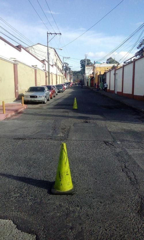 La 1.ª calle será de doble vía de forma temporal. (Foto: Amílcar Montejo/PMT)