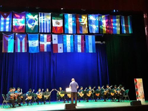 El conjunto guatemalteco tuvo una admirable presentación en el Foro Latinoamericano de Educación Musical. (Foto: Ludwing Villeda)