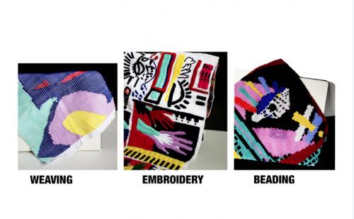Las telas estarán adornadas con estos tipos de bordado. (Foto: Societas oficial)