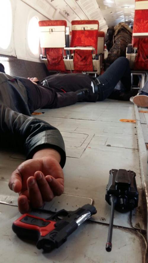 La policía abatió a dos de los secuestradores. (Foto: DGAC)