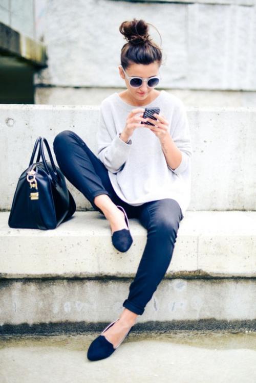 Los pantalones ajustados también son un básico. (Foto: eslamoda.com)