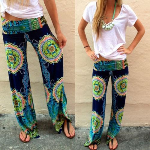 los pantalones estilo indú son muy cómodos. (Foto: eslamoda.com)