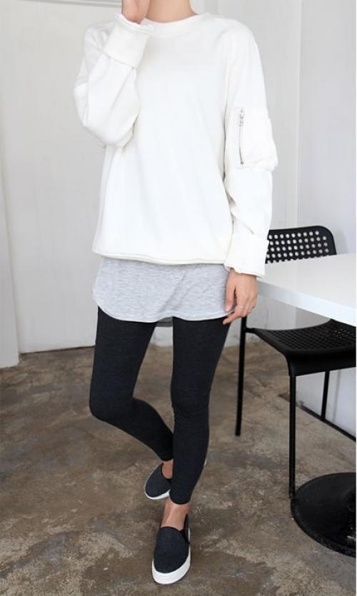 Los leggins son un básico en el armario. (foto: eslamoda.com)