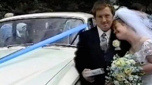 Esta es la foto de su matrimonio. (Foto: Daily Mail)