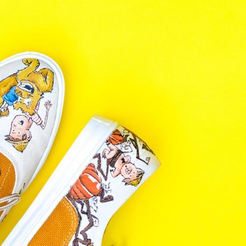Estos zapatos tienen el toque de Diego Helado. (Foto: Wanderlust Wear)