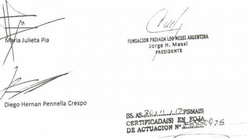 El padre de Lionel Messi firma en todas las operaciones de la investigación. (Foto: ABC)