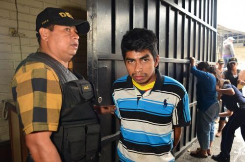 Jeremías Esaú Hernández es acusado de violar a su hermana menor. (Foto: Jesús Alfonso/Soy502)