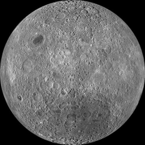En el lado oculto de la luna, no hay evidencia de actividad. (Foto: Cortesía Edgar Castro Bathen)