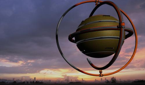 Hasta ahora, los OVNIS y extraterrestres están en territorio de la ciencia ficción. (Ilustración: Cortesía Edgar Castro Bathen)