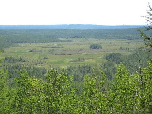 En esta región de Siberia quedó la cicatriz de un asteroide. (Foto: Cortesía Edgar Castro Bathen)