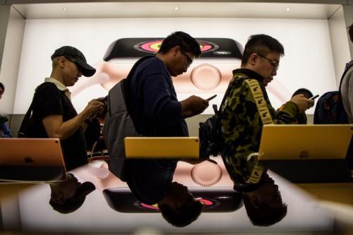El mercado asiático fue el primero en vender el iPhone X. (Foto: AFP)