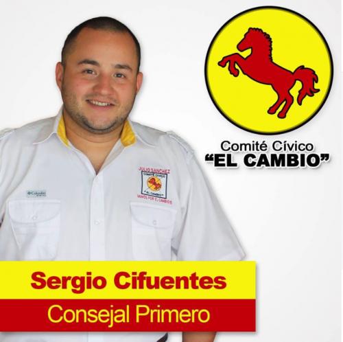 """Cifuentes llegó a la municipalidad de Zacapa con el Comité Cívico """"El Cambio"""". (Foto: Facebook)"""
