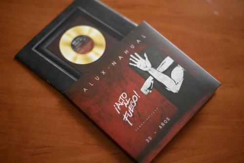Este disco tiene un gran valor histórico para la música nacional. (Foto. Wilder López/Soy502)