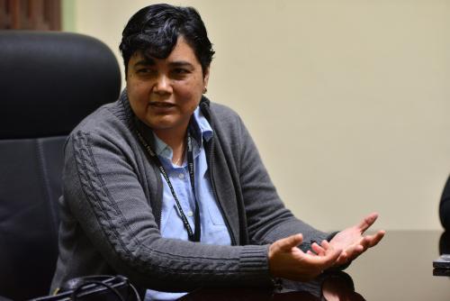 Beatriz Tuna González ha defendido a adolescentes en conflicto con la ley desde 1999. (Foto: Jesús Alfonso)