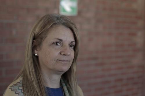 La representante en Guatemala de Oacnudh, Liliana Valiño, manifestó su preocupación por los ataques en contra de la prensa independiente. (Foto: Alejandro Balán/Soy502)