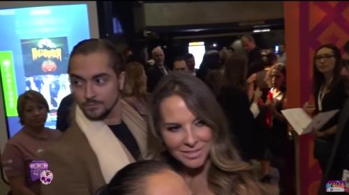 Alec y Kate juntos en el Festival de Cine de Guadalajara en Los Ángeles. (Foto: captura de pantalla)