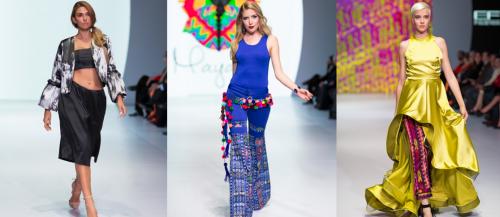 Piezas vanguardistas destacan en el Mercedes-Benz Fashion Guatemala. (Foto: oficial)