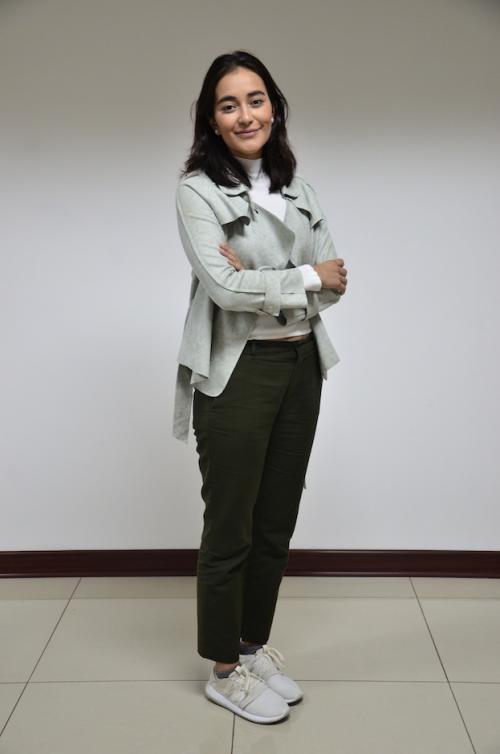 Sofía Contreras-Paredes es parte de los diseñadores que participan en el Mercedes-Benz Fashion Guatemala. (Foto: Selene Mejía/Soy502)