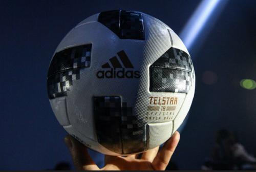 Presentan el balón Telstar 18, el oficial de Rusia 2018. (Foto: AFP)