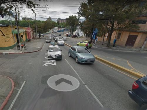 Esta es la calle que los usuarios señalan de insegura.  (Foto: Google Maps)