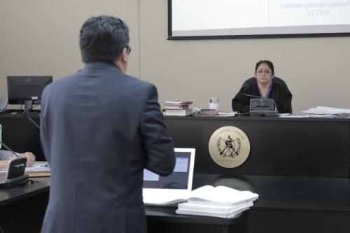 El abogado hizo su pronunciamiento a favor de El Taquero, Jesús Ariel Morales y Sara Elizabeth Cruz Mancilla. (Foto: Alejandro Balán)