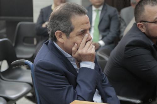 Fernando Peña es un exdirectivo de Banrural que está implicado en el caso Cooptación del Estado. (Foto: Alejandro Balán/Soy502).
