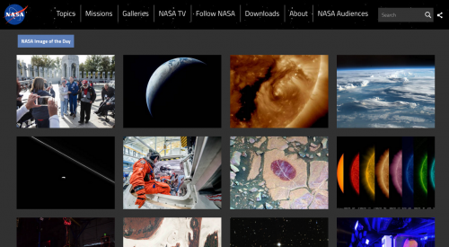 La imagen fue publicada en la página de la NASA. (Foto: Captura pantalla)