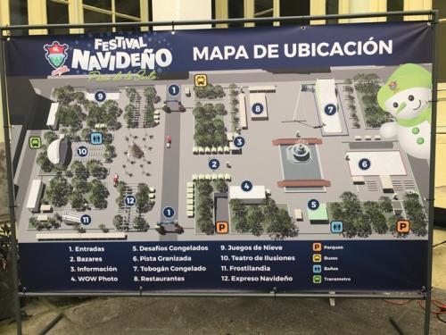En el área habrán 22 frentes distintos llenos de actividades. (Foto: Soy502)