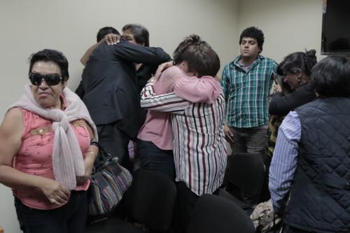 La familia de Mitzie Sánchez celebró la condena después de tres años de ocurrida la muerte. (Foto: Alejandro Balán/Soy502)