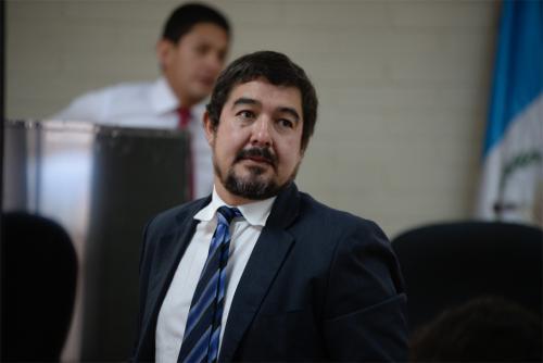 El MP acusó a Juan Francisco Sandoval Girón, exviceministro de Comunicaciones, de lavar 1.5 millones de quetzales que le pagaron a Alejandro Sinibaldi por sobornos. (Foto: Wilder López/Soy502)