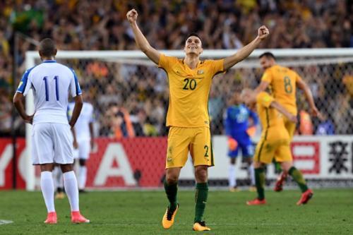 Honduras cayó 3-1 contra Australia y perdió el pase al Mundial Rusia 2018. (Foto: AFP)
