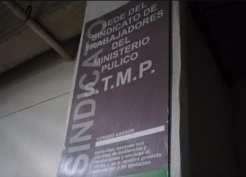 El sindicato del MP también ofrece asesoría para problemas laborales de los personeros de la entidad. (Foto: Soy502)